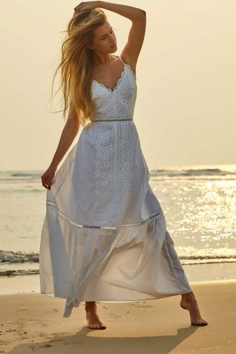Платье Vesnaletto 1424 -2 белый