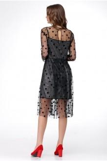 Платье Ладис Лайн 1029 серебристо-черный фото 4