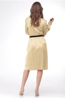 Платье Ладис Лайн 1011 золотой фото 3