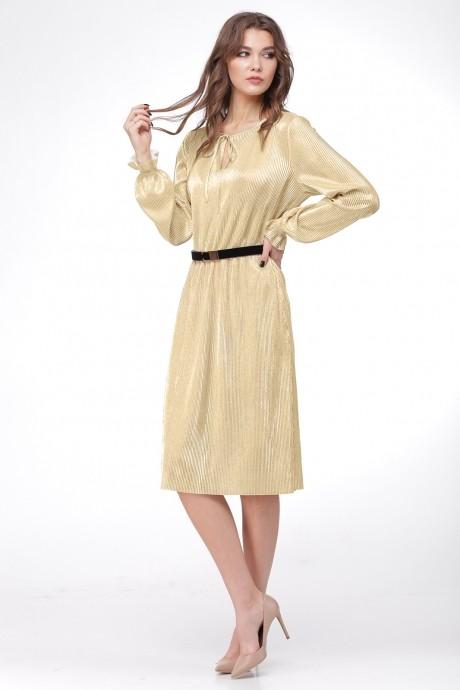 Платье Ладис Лайн 1011 золотой