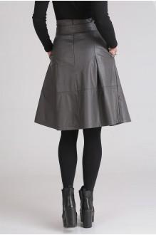 Юбка Ладис Лайн 1023 серый фото 3