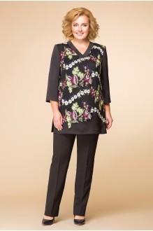 Romanovich Style 2-1558 черный/кружево мелкие цветы
