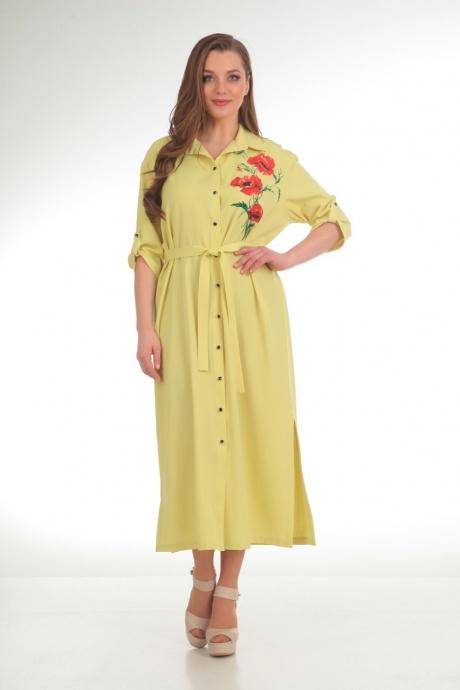 Платье Анастасия Мак 486 желтый