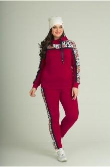 Анастасия Мак 591 красный+розовый