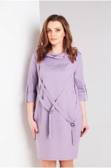 Платье Милора Стиль 706 серо-сиреневый фото 2