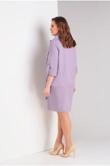Платье Милора Стиль 706 серо-сиреневый фото 3