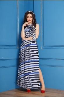 Anastasia 196 черно-синяя полоска