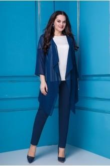Anastasia 253 синий/молочный