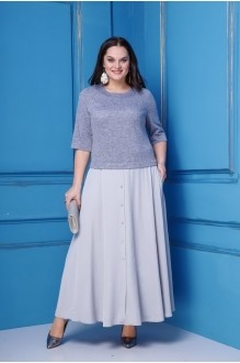 Anastasia 255 серо-голубой