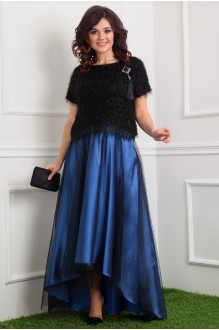 Мода-Юрс 2376 черный/голубой