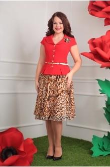 Мода-Юрс 2103 красный + леопард