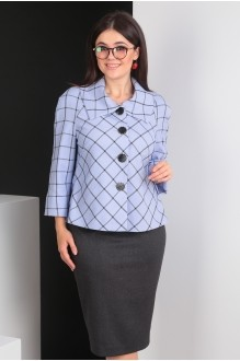 Мода-Юрс 2403 сирень+серый
