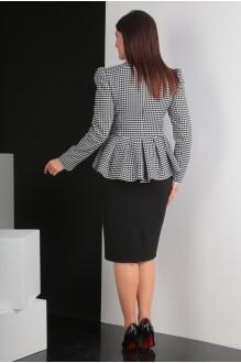 Костюм, комплект Мода-Юрс 2319-1 черно-белый фото 4