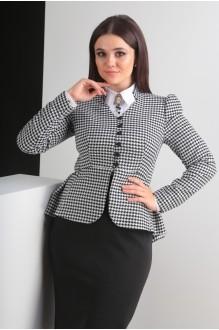 Костюм, комплект Мода-Юрс 2319-1 черно-белый фото 5