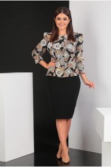 Мода-Юрс 2225 -1 коричневый + чёрный