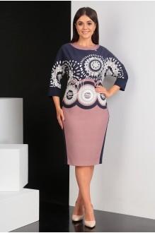 Мода-Юрс 2431 розовый + верх орнамент