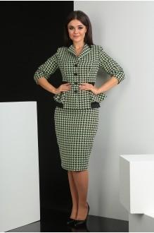 Мода-Юрс 2349 -1 светло-зеленый + чёрный