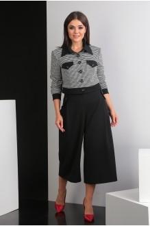 Мода-Юрс 2435 чёрно-белый