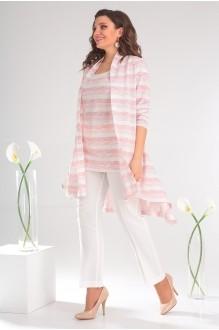 Мода-Юрс 2357 розовые полоски + молочный