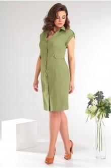 Платье Мода-Юрс 2346 зеленый фото 2
