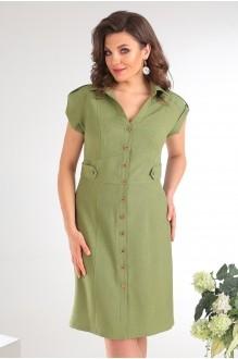 Платье Мода-Юрс 2346 зеленый фото 3