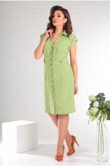 Платье Мода-Юрс 2346 светло-зелёный фото 2