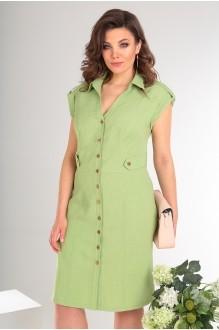 Платье Мода-Юрс 2346 светло-зелёный фото 3