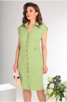 Платье Мода-Юрс 2346 светло-зелёный фото 4