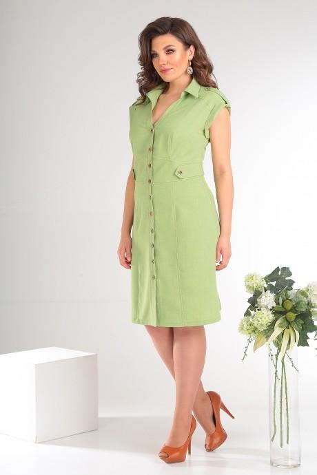 Платье Мода-Юрс 2346 светло-зелёный