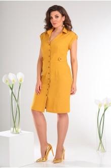 Платье Мода-Юрс 2346 жёлтый фото 2