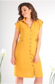 Платье Мода-Юрс 2346 жёлтый фото 3