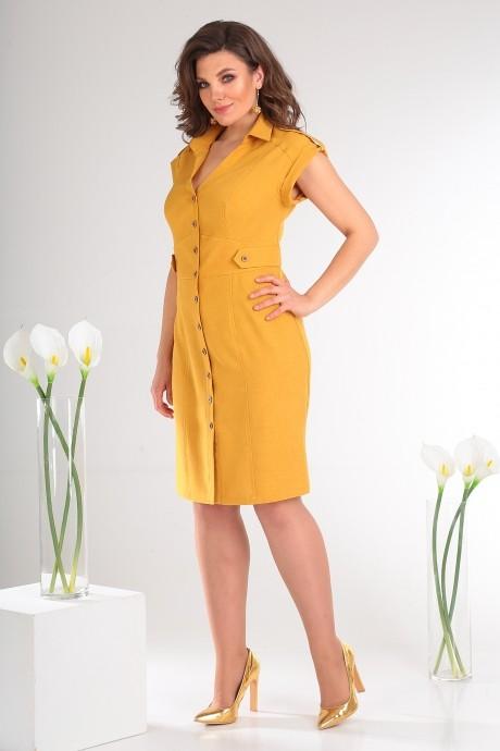 Платье Мода-Юрс 2346 жёлтый