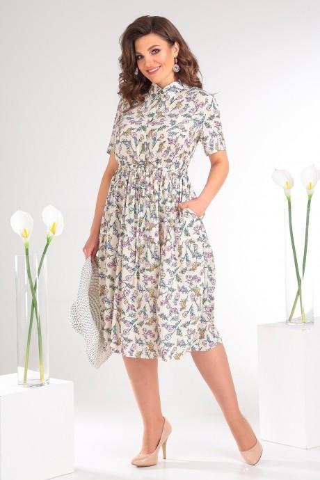 Платье Мода-Юрс 2479 светлый