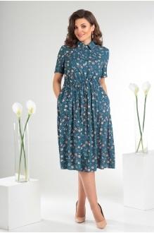 Платье Мода-Юрс 2479 тёмный фото 2