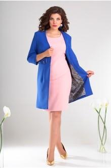 Костюм, комплект Мода-Юрс 2478 василёк + розовый фото 3