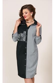 Vittoria Queen 9583 серый+черный