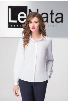 LeNata  11931 белый однотон