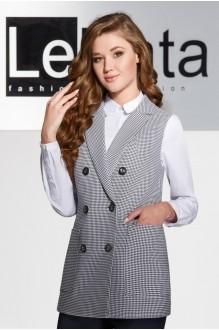 LeNata 11933 чёрно-белая лапка