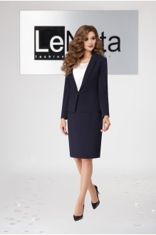LeNata 32871 синий без страз