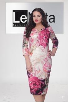 LeNata 12590 розовые цветы