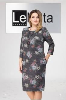 LeNata 11961 серый в цветы