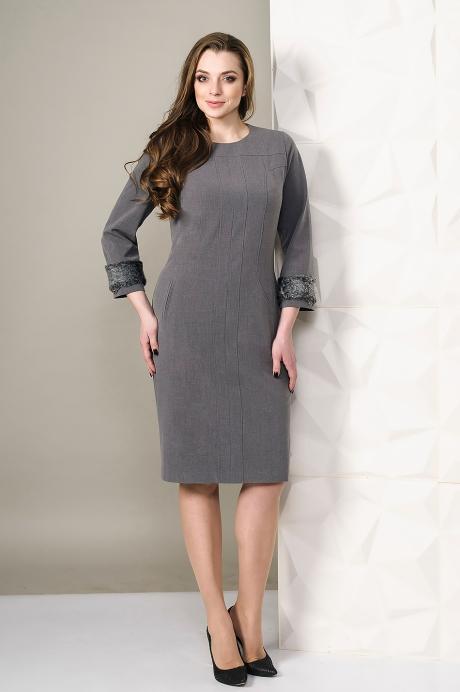 Платье Golden Valley 4450 серый