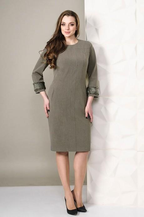 Платье Golden Valley 4450 кофейный
