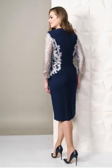 Платье Golden Vallеy 4451 темно-синий фото 2