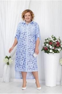 Нинель Шик 5534 василек+ голубой