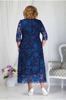 Платье Нинель Шик 7203 темно-синий фото 2