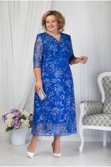 Платье Нинель Шик 7203 василек фото 1