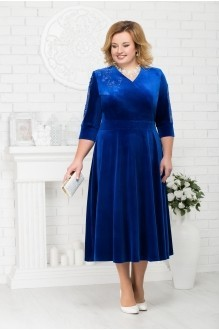 Платье Нинель Шик 2187 василек фото 1