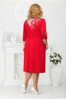 Платье Нинель Шик 7212 красный фото 2