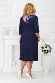 Платье Нинель Шик 7212 темно-синий фото 2